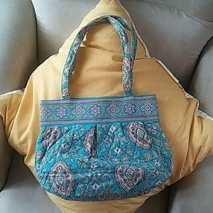 Vera Bradley Totally Turq handbag/purse
